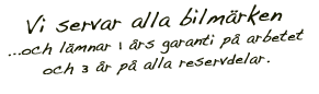 Bilverkstad Bilservice Fridhemsplan Kungsholmen